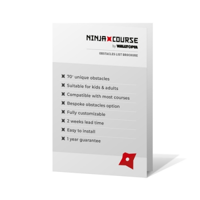 Ninja Course Obstacles List