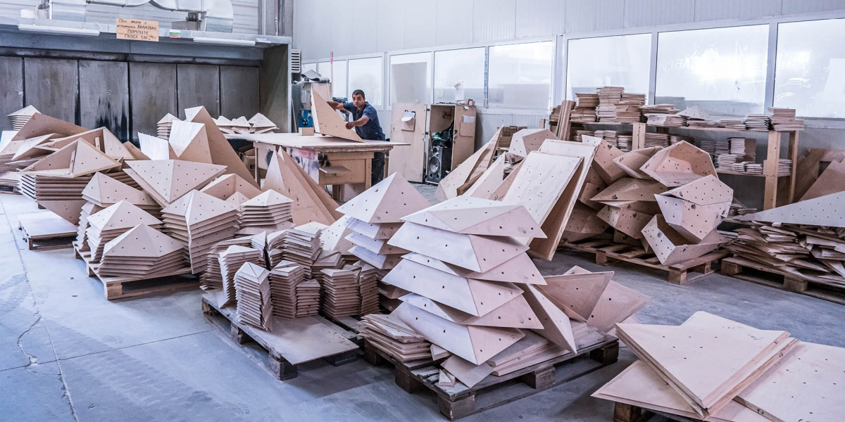 Walltopia Plywood Production